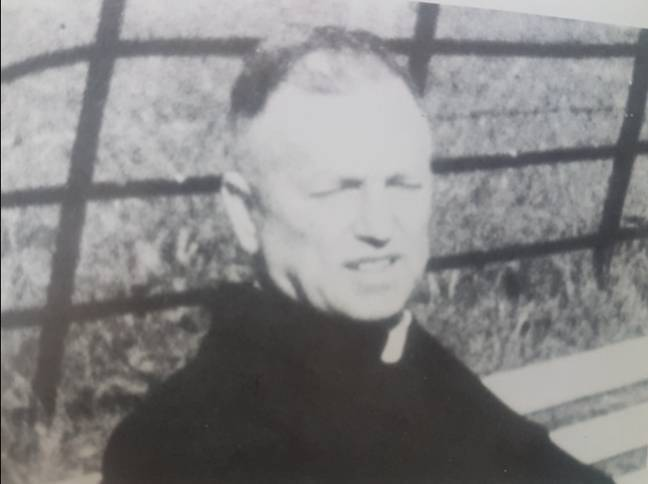 Father Crean, one of MacKay's victims. Credit: Triangle News