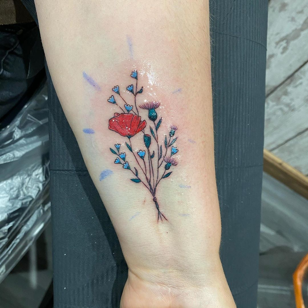 25 Tattoos with Ashes That Forever Memorialize the Passing of a Loved One