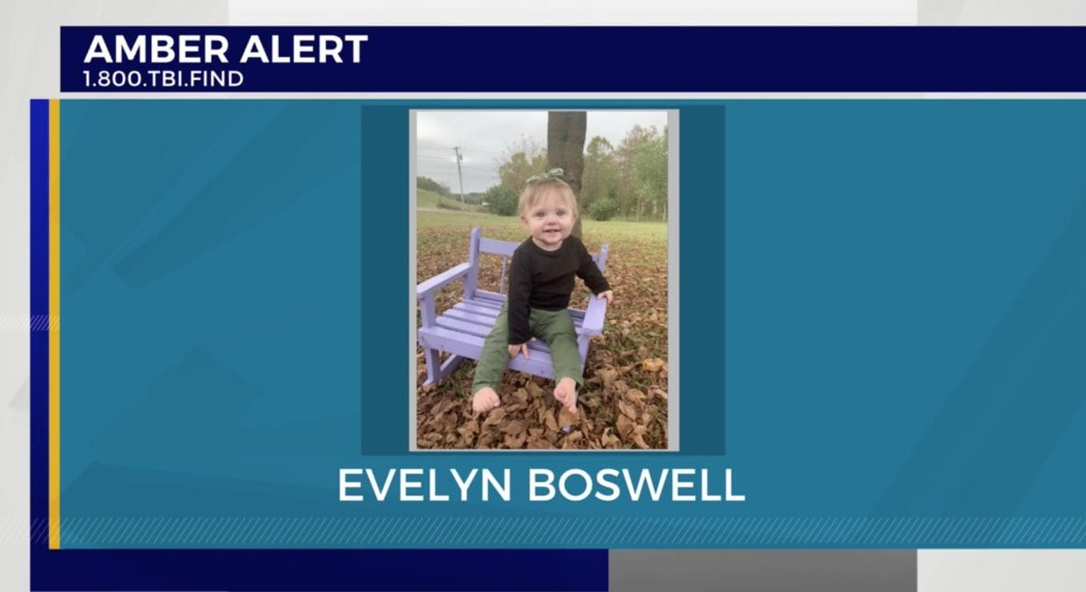 Megan Boswell Arrested  Daughter Evelyn's Disappearance