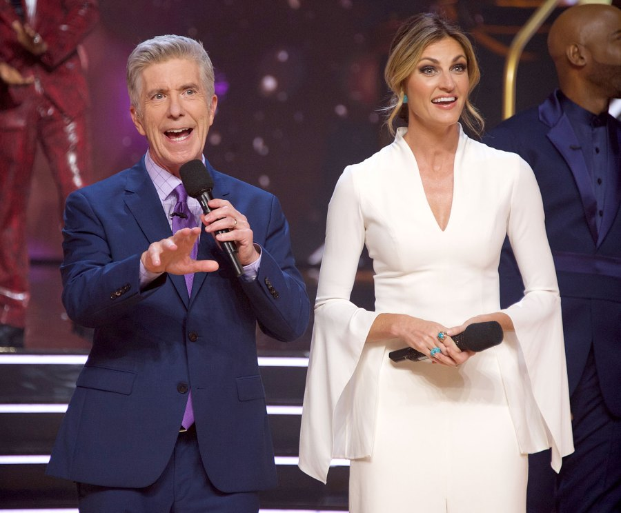 Everything Tom Bergeron Erin Andrews Have Said About Their DWTS Exits